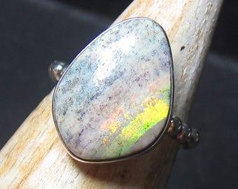 Australian Matrix Opal Ladies Ring