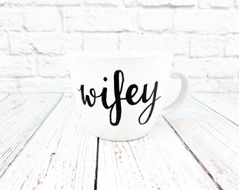 Wifey Cappuccino Mug