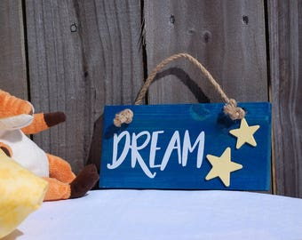 Wooden Dream sign