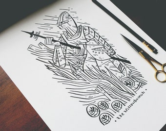 The Willow Branch ver 2 - Ink Sale