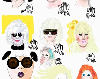 Happy Belated Birthday Lady Gaga Vibrancy
