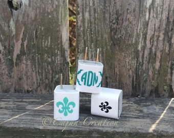 iPhone charger decal, fleur de lis charger decal, monogram iphone charger decal,  Phone charger decal, phone accessories, personalized