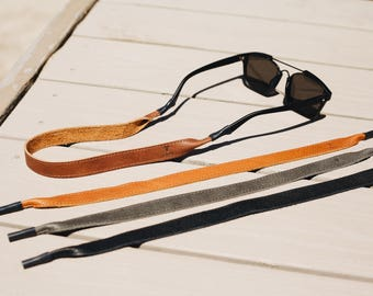 Leather Sunglass Strap / Sunglass retainer / Strap for Sunglasses