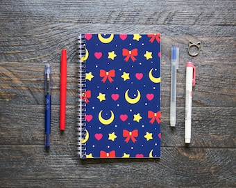 Medium Monthly Planner (120-Pages) | 24 Months | No Weekly Pages | On Behalf of the Moon Planner