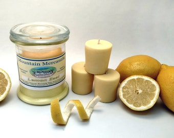 Lemon Zest Votives - Hand Poured Soy Candles