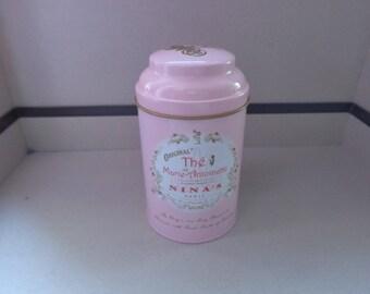 Nice tea tin