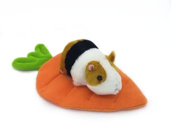 Carrot lounger (Mat/Potty) For Guinea Pigs/ Rabbits and other small animals
