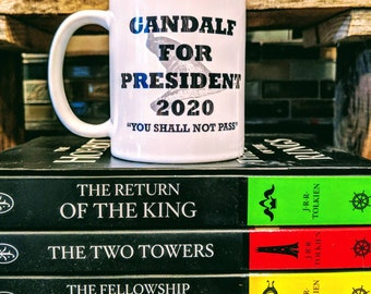 Gandalf for President Mug (11 oz)