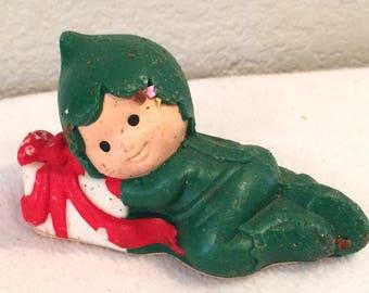 Avon Santa's Helper Boy Pomander Festive Garlands 1982