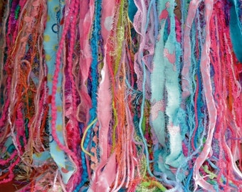 SALE FRiNGE PRoP Baby Girl Photo Prop WAS 75 NOW 60 Newborn Layer LoNG SHaG Yarn Fabric BaSKET FiLLER Pink Aqua Lilac Lime BaCKDRoP In Stock