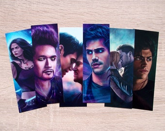 Shadowhunters bookmarks (regular size)