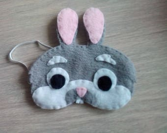 sleeping mask fleece Bunny