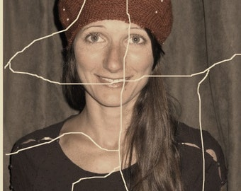 Amelie Beret - Crochet Pattern PDF