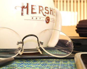 Glasses and a Hershey Cup, Photo, Print, Wall Deco