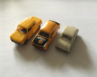 IMU, Busch and other make - small plastic car lot
