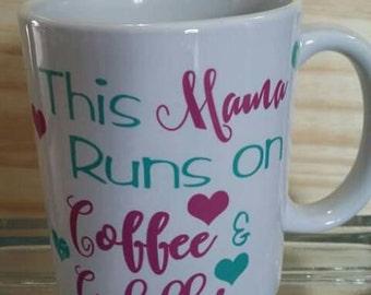 Coffee and cuddles coffee mug