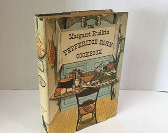 Vintage Cookbook The Margaret Rudkin Pepperidge Farm Cookbook 1965  Full of Practical Recipes  Down-Home Stories, and Lovely Artwork