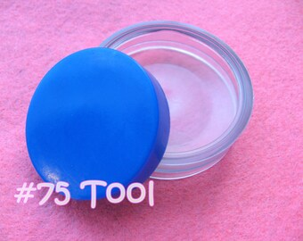 "Cover Button Assembly Tool - Size 75 (1 7/8"") diy notion button supplies rubber hand press non machinery"