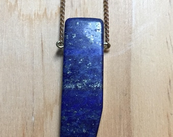 Dainty Lapis Necklace