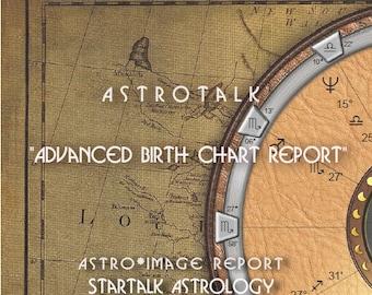 Advanced Natal Birth Chart and Forecast  Reading.
