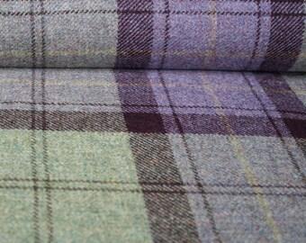 Warkworth Wool Plaid Fabric - per metre
