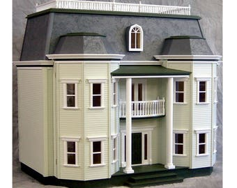 Le Grande Chateau Wooden Dollhouse Kit,  Scale One Inch