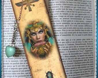 """Laminated bookmarks """"Cléopatra"""""""