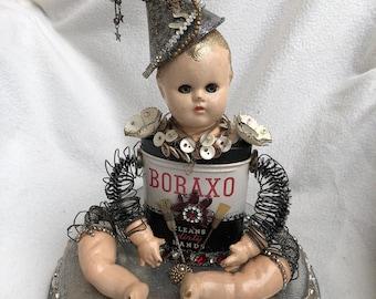 Altered Art Doll #72