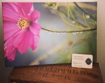 Gallery Wrapped Canvas, Summer rain {SALE}