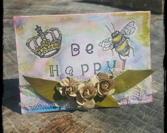 Custom Mixed Media Embellished Handmade Cards, Placeholders, Tags and Shaker, Postcards*Made to order