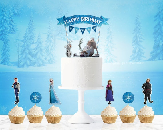 frozen cake topper Frozen frozen birthday frozen birthday party