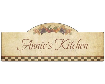 Personalized Name Kitchen Sign