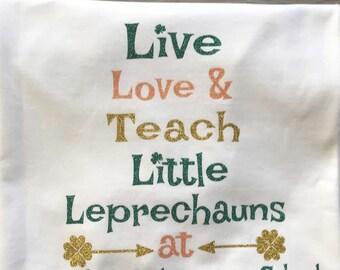 St. Patrick's Day Teacher Shirt