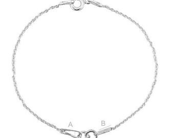 Bracelet findings Silver 925