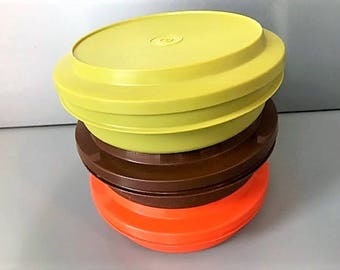 Vintage Set of Tupperware Containers