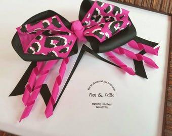 Layered hair bow