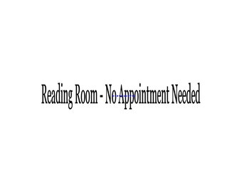 Reading Room No Appointment Needed - Wall Decal - Vinyl Wall Decals, Wall Decor, Signage, Wall Stickers, Bathroom Wall Decal, Bathroom Decor