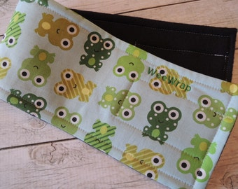 Dog Diaper Belly Band,  Stop Marking, Froggy  Fabric,  Personalized, FAST Shipping
