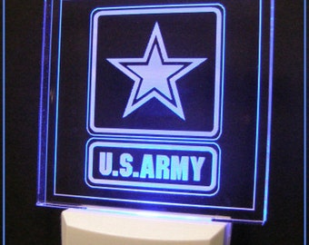Military Night Lights, Marines Night Light, Army Night Light, Navy Night Light, Air Force Night Light, National Guard Night Light