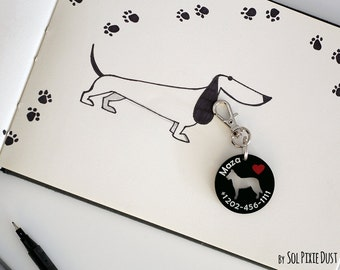 Dog Tag - Beauceron - Personalized Pet ID, Pet Accessory