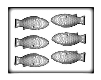 Fish Hard Candy Mold - 4 Inch - Under The Sea - Baking Candy Making Party Supplies
