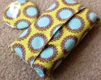 Amy Butler Matching tissue cozy and pocket mirror