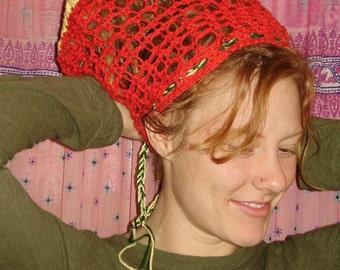 Who the Cap Fits.... RaSTa -- RooTs, RoCK, ReGGae... X-LaRGe -DReaDLoCK-TAM- iRieLove hippie boho Mama and Me... Ready2Ship