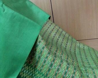 Precious Thai Silk,Hand Woven,Genuine Silk,The Silk Handmade,Craft and DIY Supply,Unique