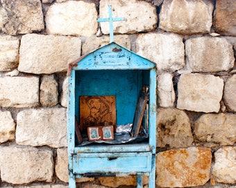 Religious Shrine, Fine Art Photography, Greece,