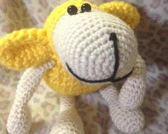 Lamb Crochet Giraffe Nursery Baby Shower Amigurumi