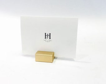 Place Card Holders + Gold Place Card Holders (Set of 75)
