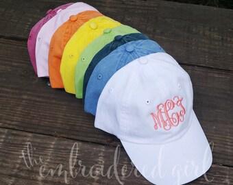 Child's Ball Cap, Kid's Cap, Baseball Cap, Monogrammed Cap, Personalized Cap, Child's Hat, Kid's Hat