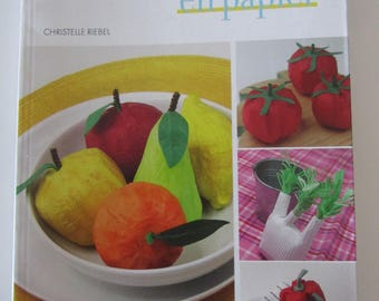 "Book ""Fruits and vegetables in paper"" - 40 models"