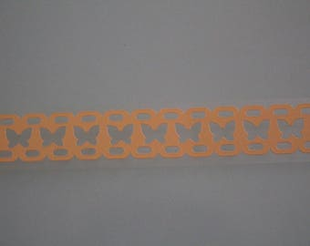 Washi tape lace yellow butterflies